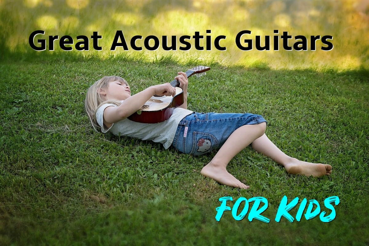 2020's Best Acoustic Guitars for Kids and Beginners