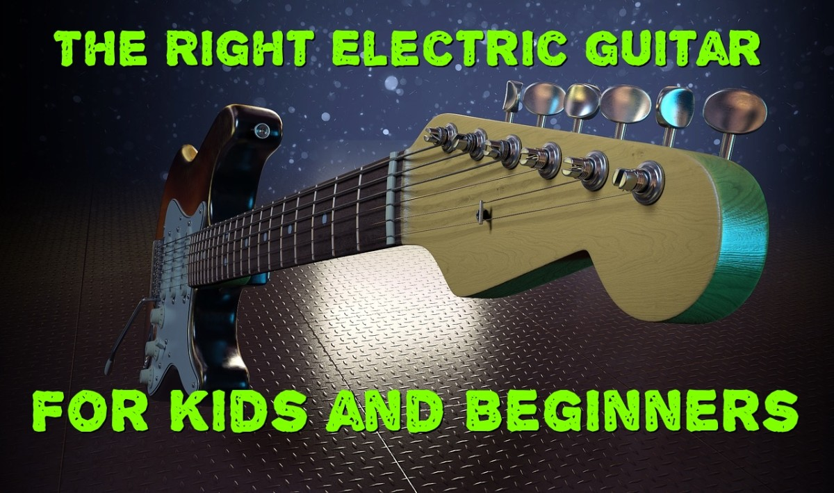 Choosing the best electric guitar for a child or beginner is not all that mysterious...