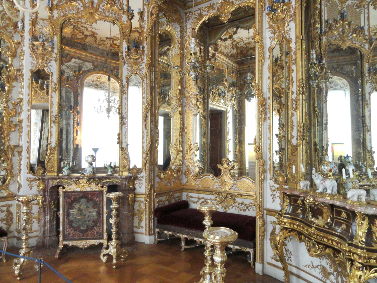 Münchner Residenz (Spiegelkabinett), Munich, Germany
