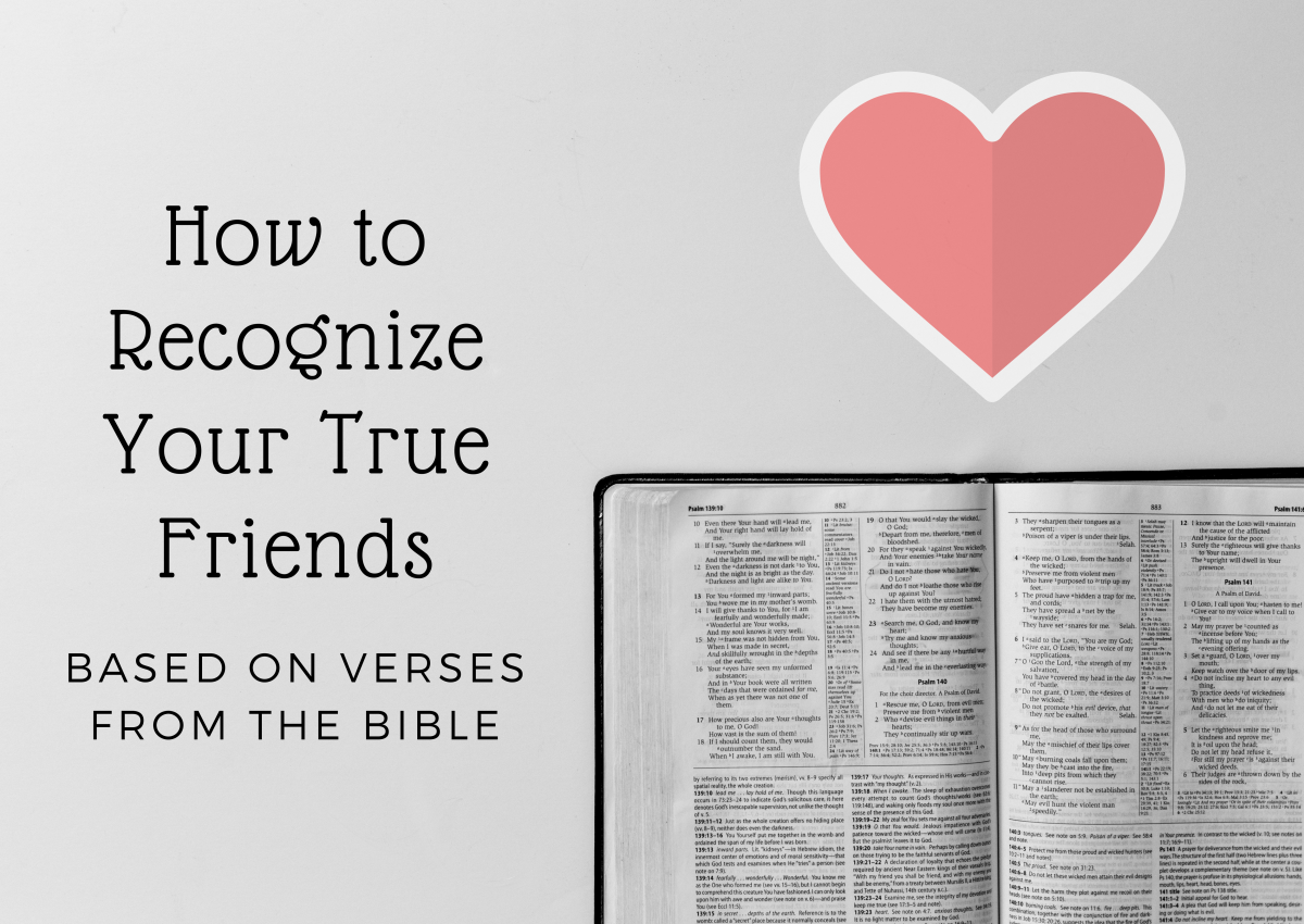 bible verses about friendship and the qualities of a true