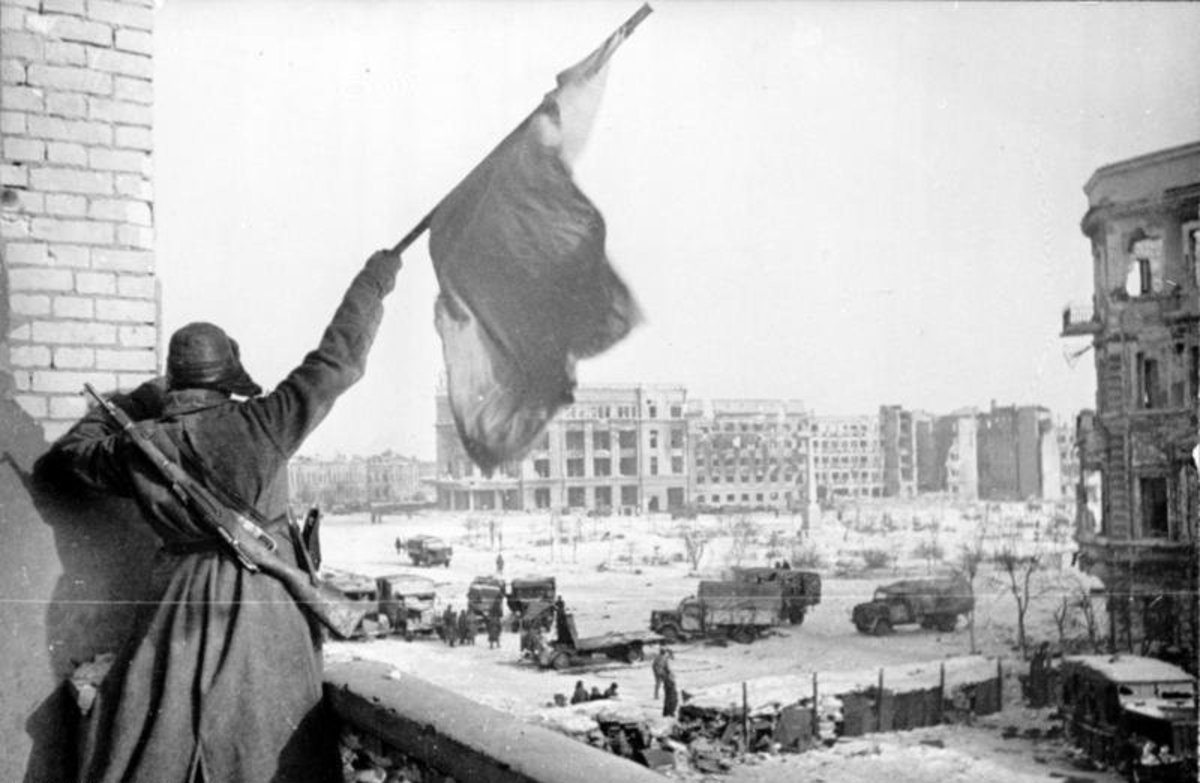 Battle of Stalingrad.