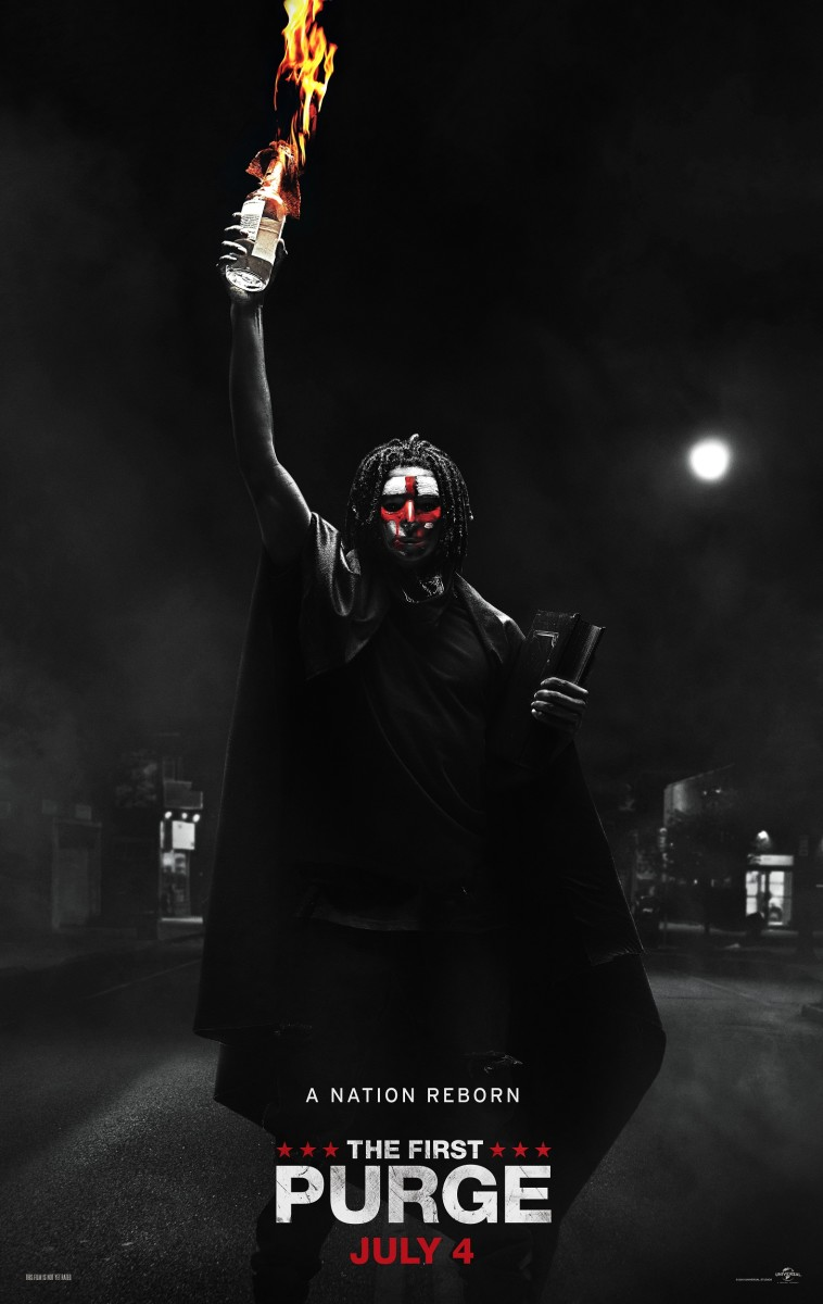 "The final one-sheet theatrical poster for, ""The First Purge."""