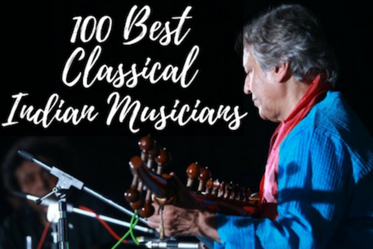 Explore the 100 best classical Indian musicians!