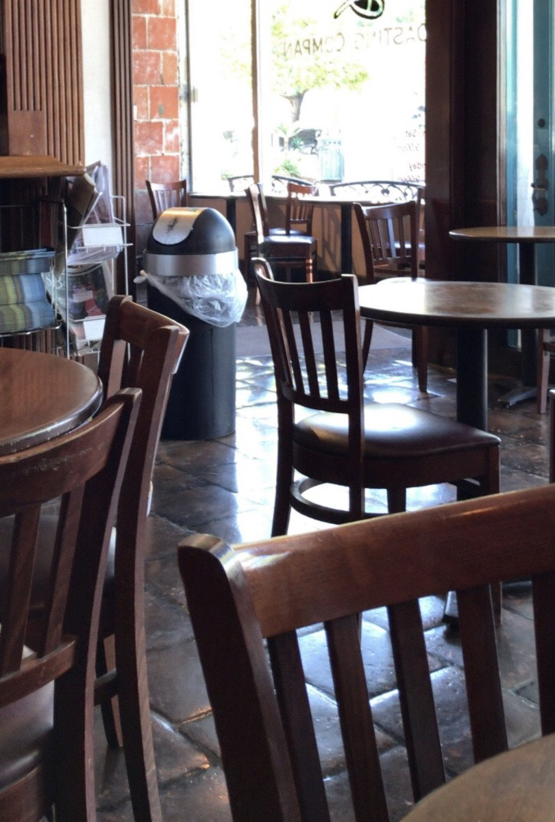 Poem: Dybbuk in the Cafeteria