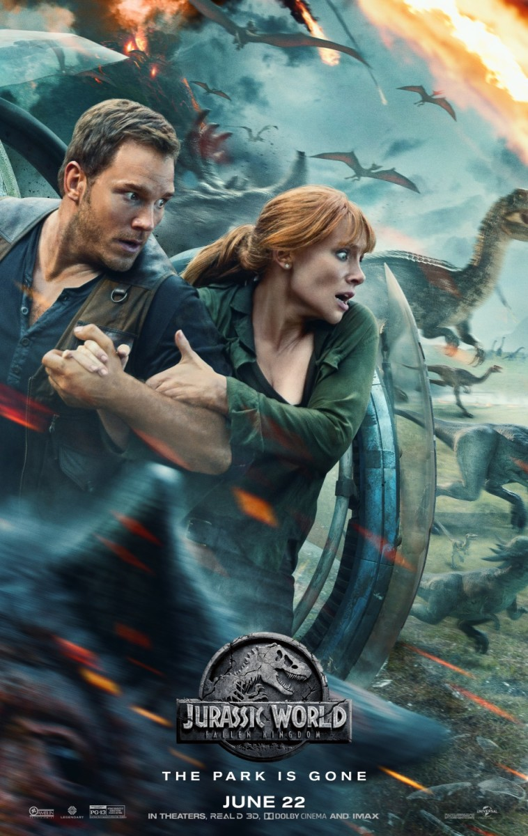 "Movie Review: ""Jurassic World: Fallen Kingdom"""