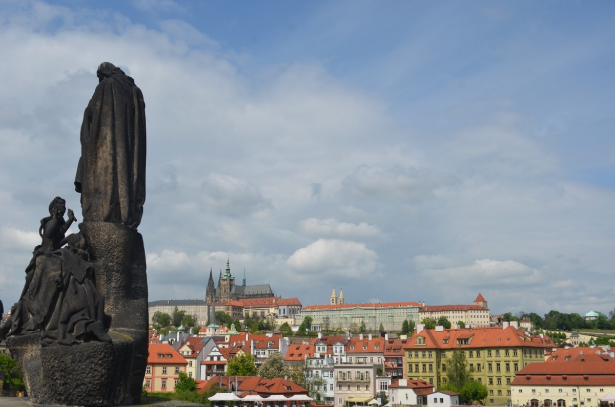 View of Prague from St Charles Bridge (c) A. Harrison