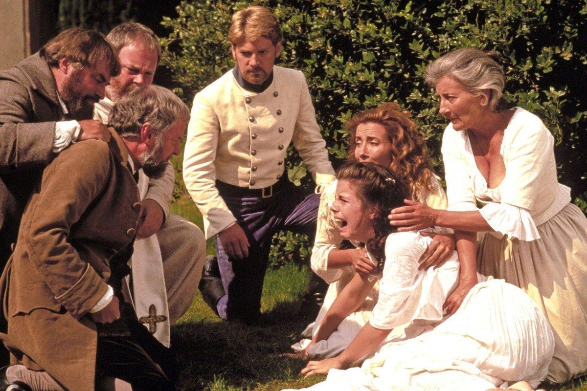 Hero and Claudio's wedding scene
