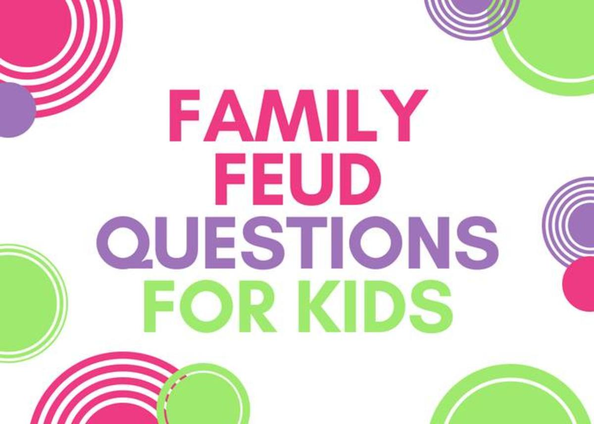 picture regarding Family Feud Printable named Loved ones Feud Concerns for Little ones WeHaveKids