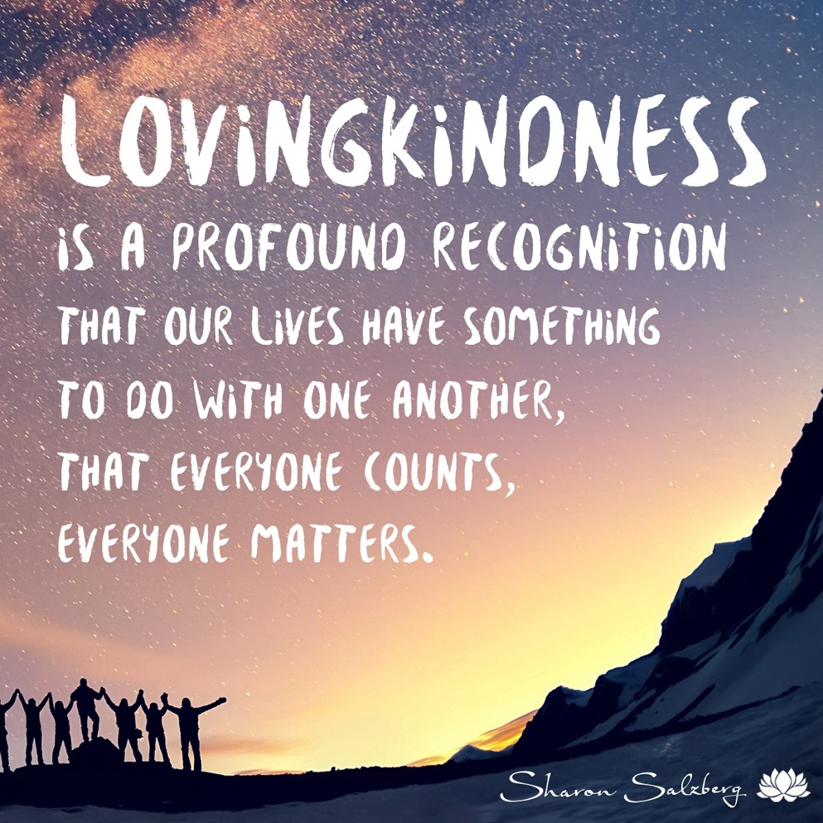 To Love Kindness