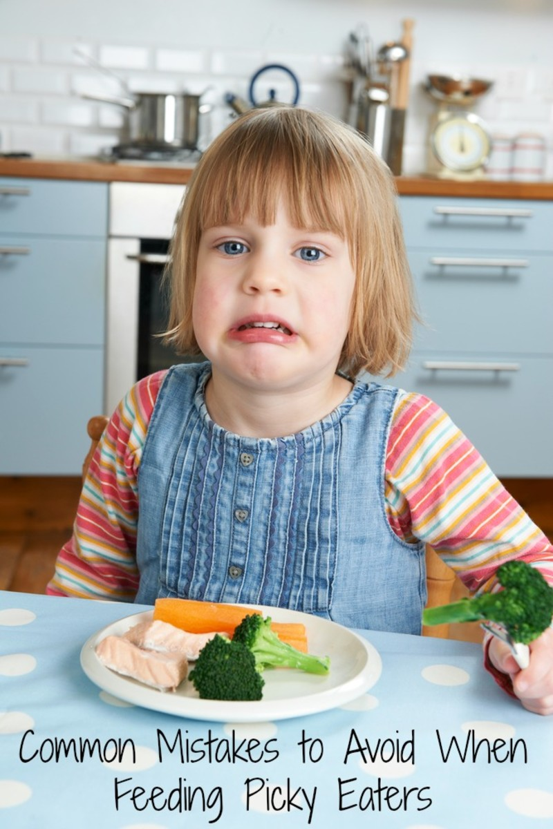 4 Common Mistakes to Avoid When Feeding Picky Eaters
