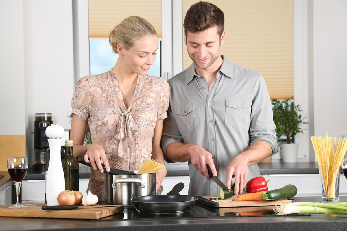 Cooking at home is fun, and it can also help you save money.