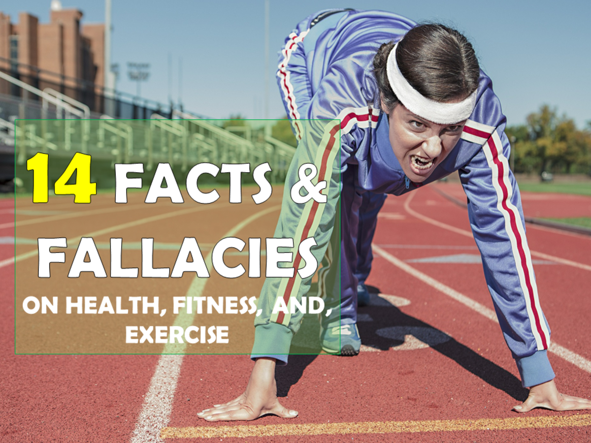 14 Facts and Fallacies About Health, Fitness, and Exercise That You Must Know