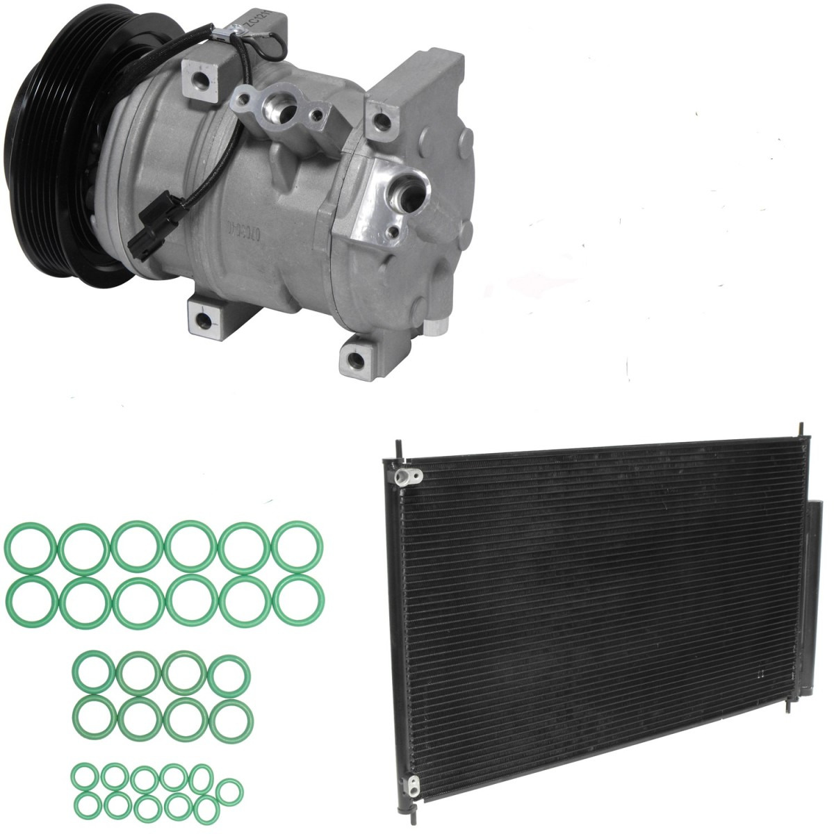 Honda Pilot Ac Service Compressor And Condenser Replacement With