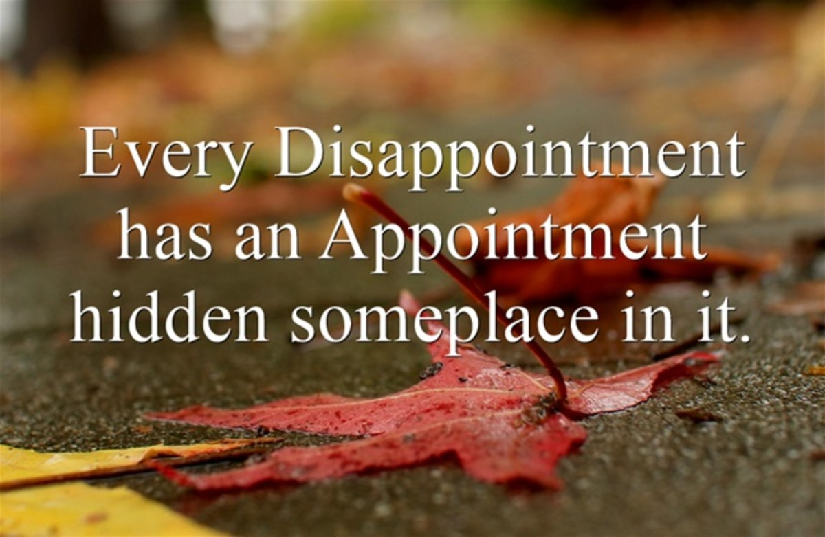 How to Turn a Disappointment into an Appointment
