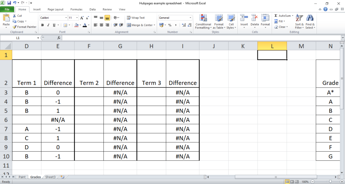 How to Hide Error Values in Microsoft Excel