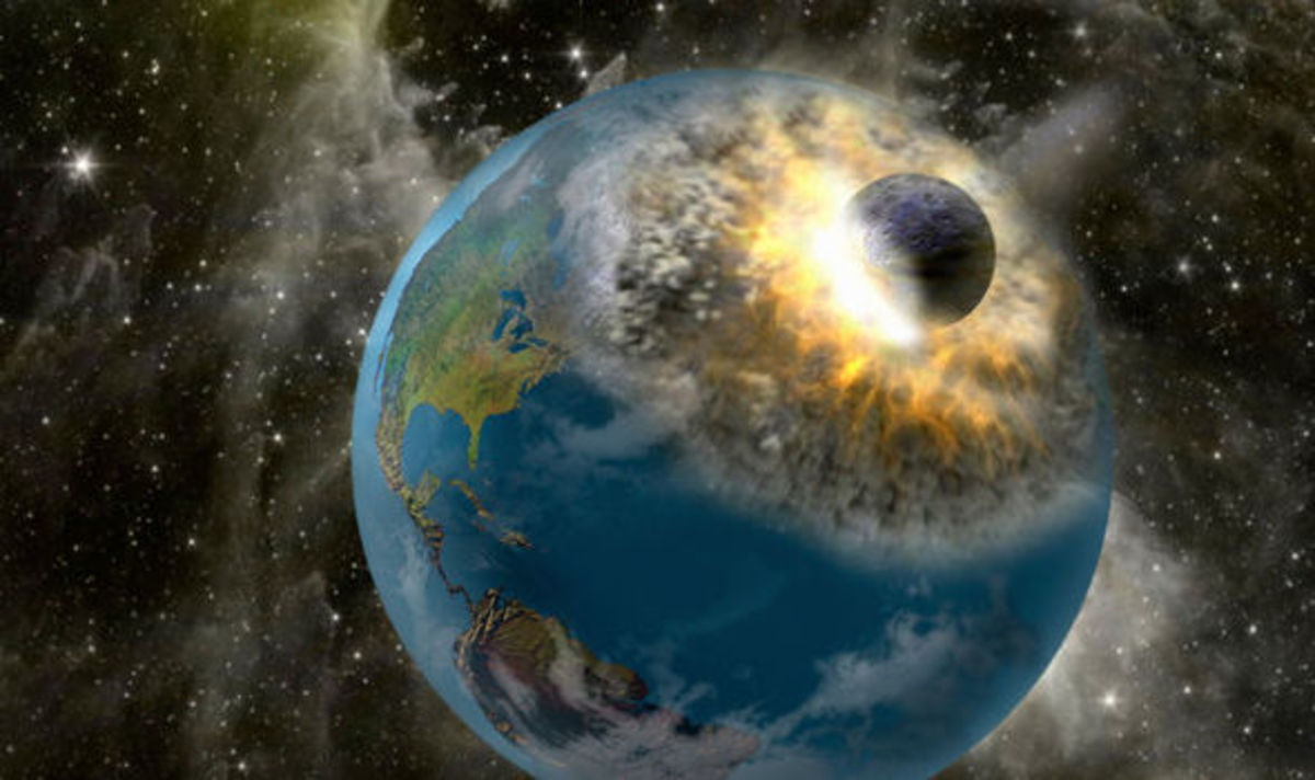 It's a Bird, It's a Plane, Oh, It's an Asteroid Headed Right for the Earth