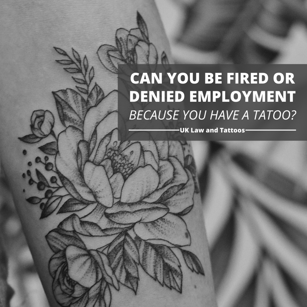 What does UK law say about employee rights when it comes to tattoos?