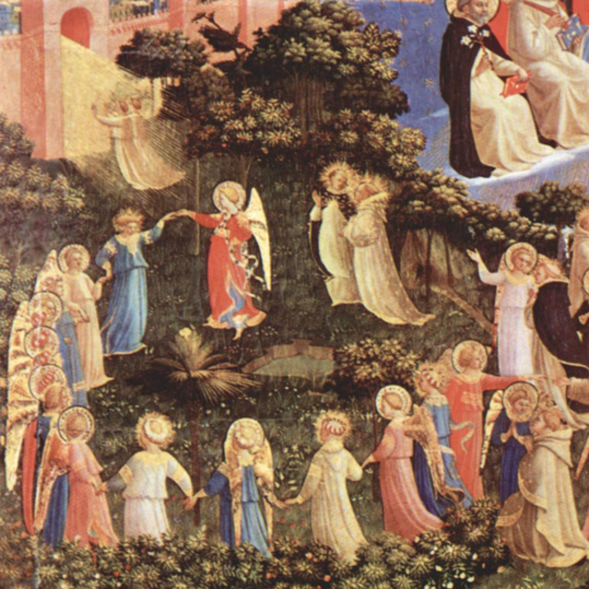 Detail of the Last Judgment by Blessed Fra Angelico