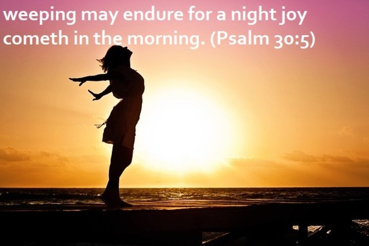15 Uplifting Bible Verses About Joy