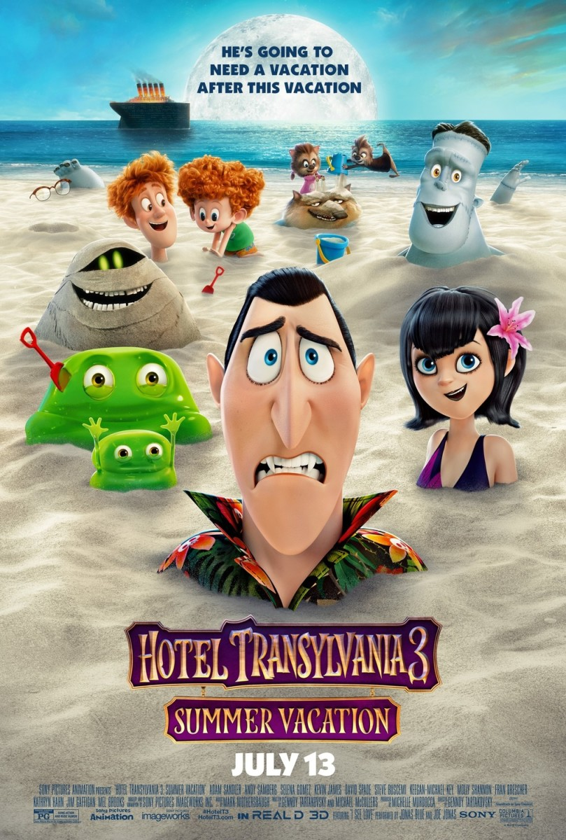"Movie Review: ""Hotel Transylvania 3: Summer Vacation"""