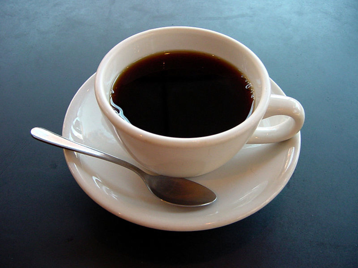 Black coffee: delicious, easy to drink and I love it.