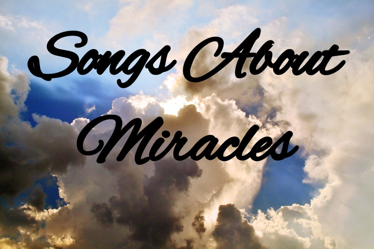 Celebrate the magic of miracles in the world around you, whether you need a miracle or are waiting on one. Make a playlist of popular songs about miracles then take time to recognize the everyday wonders in your life.
