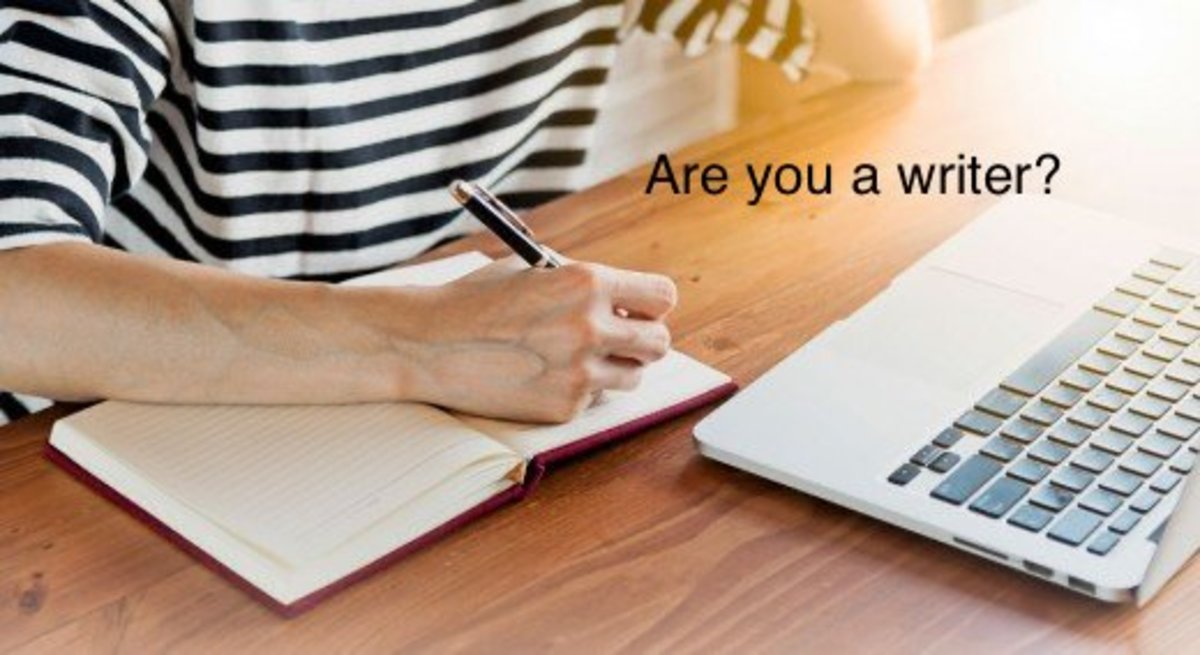 Are you a writer? What are the symptoms, which can determine that you are a writer?