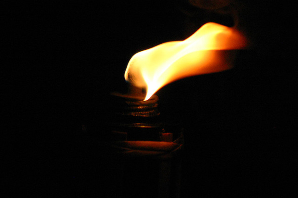 Dying Flame: A Poem