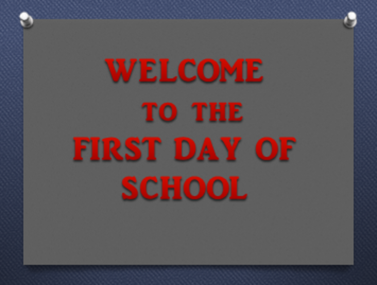Successful First Day of School Sets the Tone | Owlcation