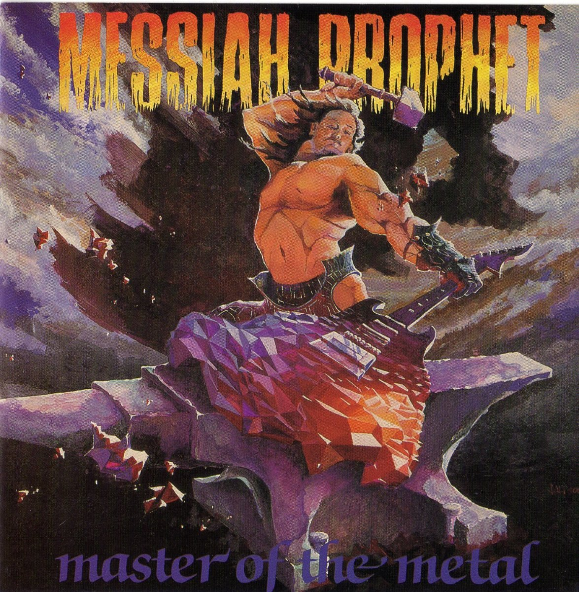 """Master of the Metal"" album cover"