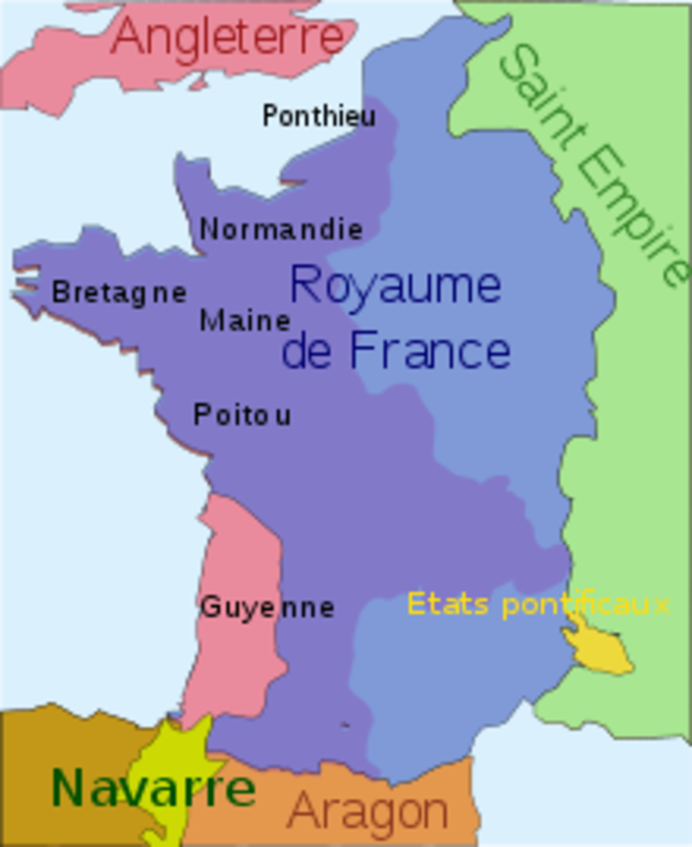 Guyenne has been a pain in the neck for France ever since England first captured it