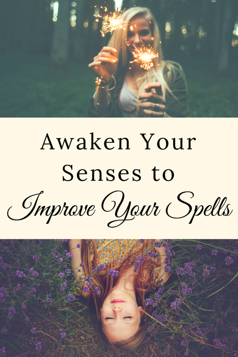 "Having trouble getting ""in the mood"" for spell casting? Take a moment to look at the spell and see what isn't working for you. Sometimes you just have to adjust the spell so it activates all of your senses."