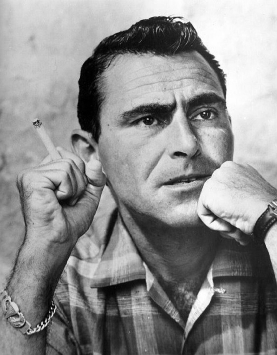The late Rod Serling.