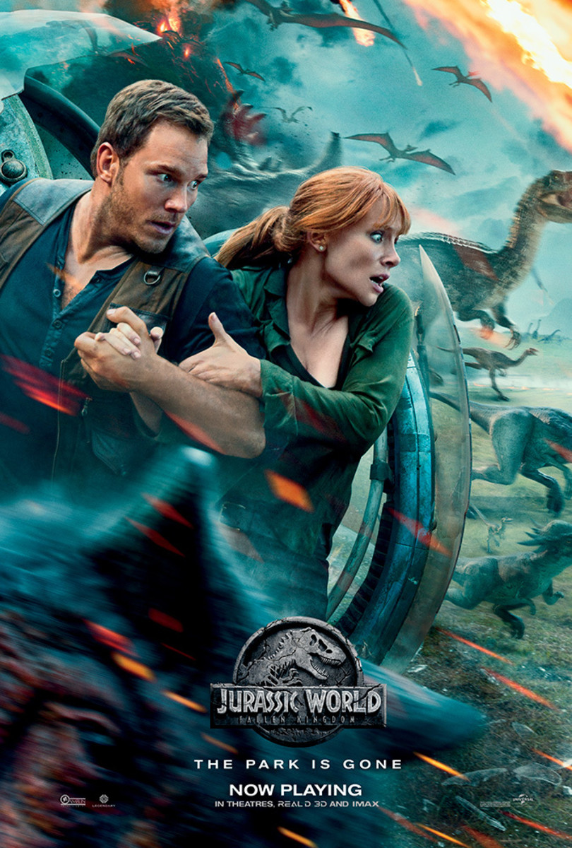 Back to the Island - 'Jurassic World: Fallen Kingdom' Review