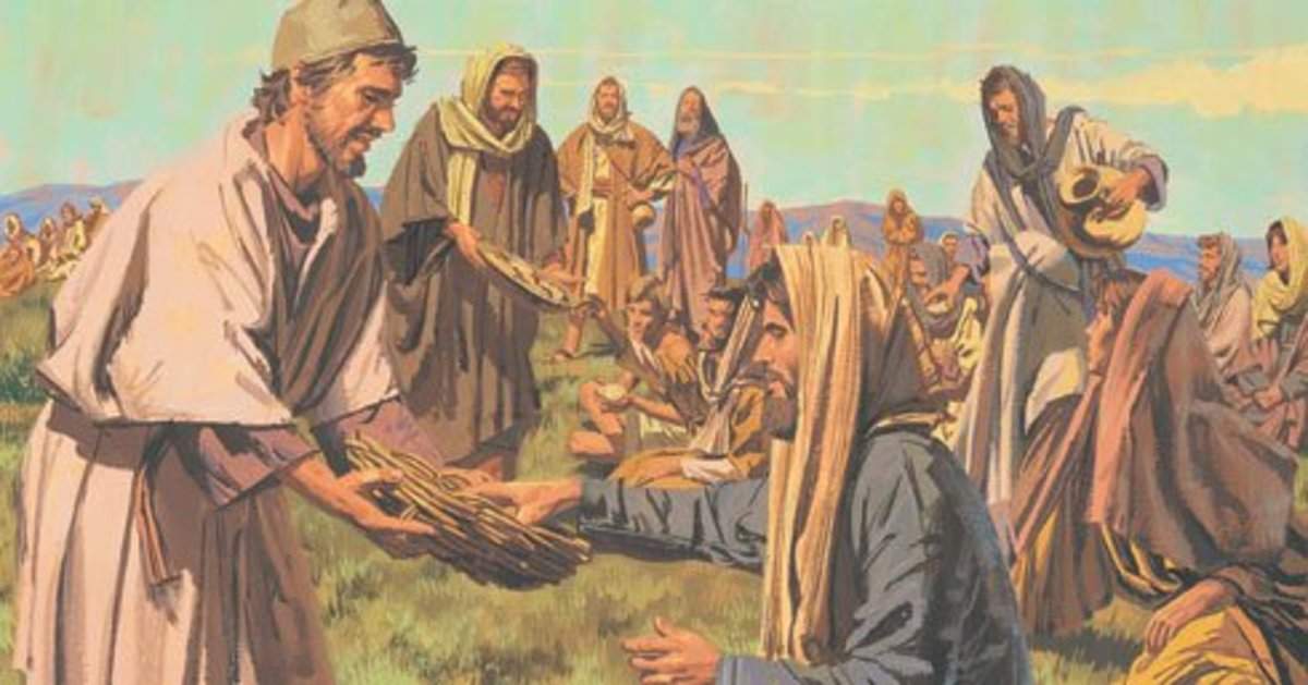 Feeding of the Five Thousand and Feeding of the Four Thousand Compared
