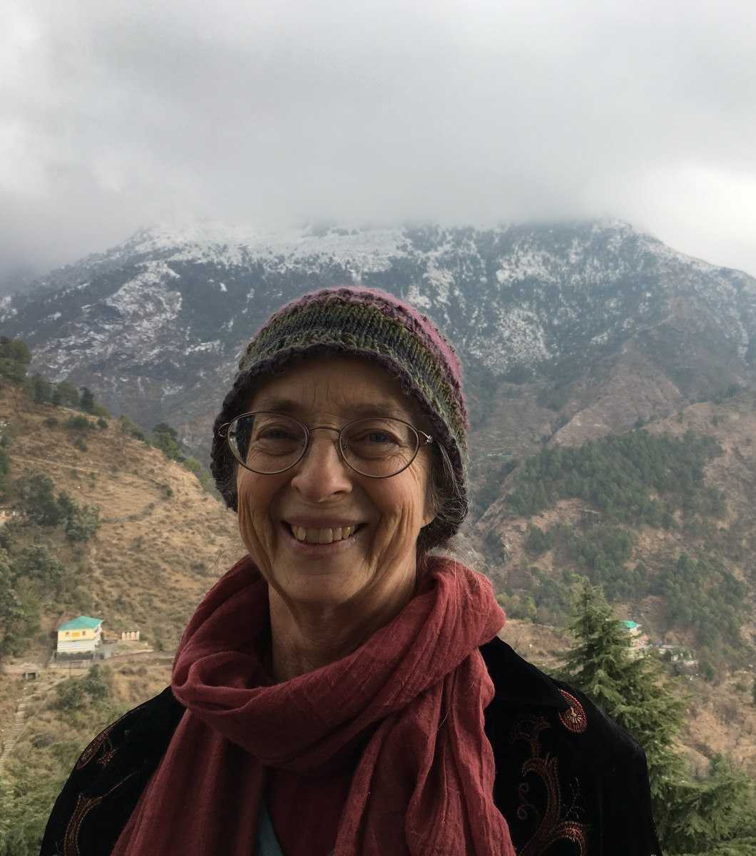 Betsy Terrell in Dharamsala, India