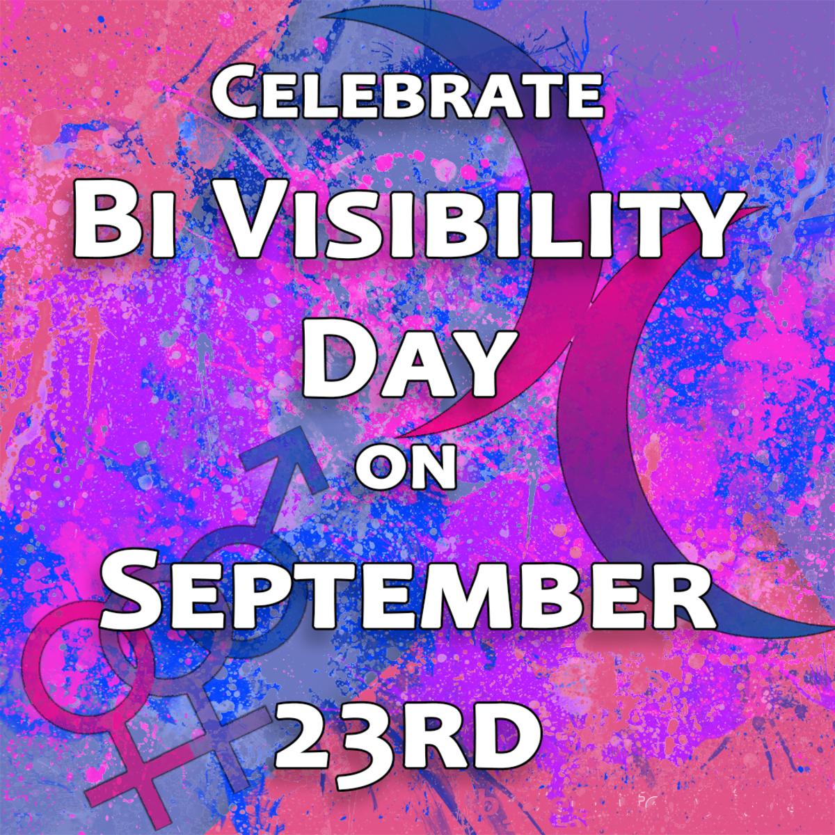 Celebrate Bi Visibility Day on September 23rd