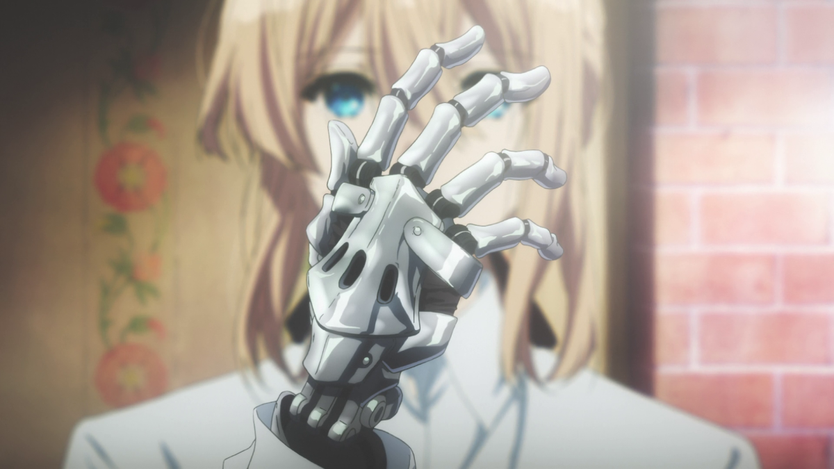A grim reminder of the Great War, Violet is now forced to live with prosthetic steel arms.
