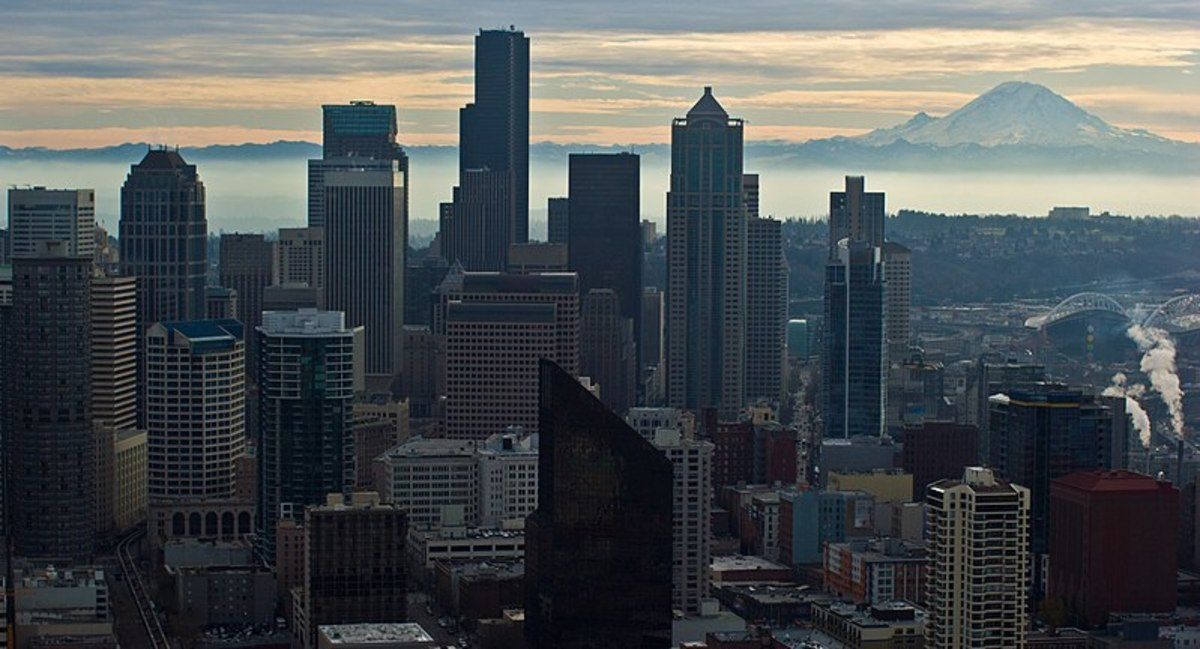 Because of its proximity to Seattle, Mt. Ranier has always been high on any West Coast Volcano Watchlist Though this 14,000 footer hasn't seen any volcanic activity since  1894, future eruptions are a question of when, not if.