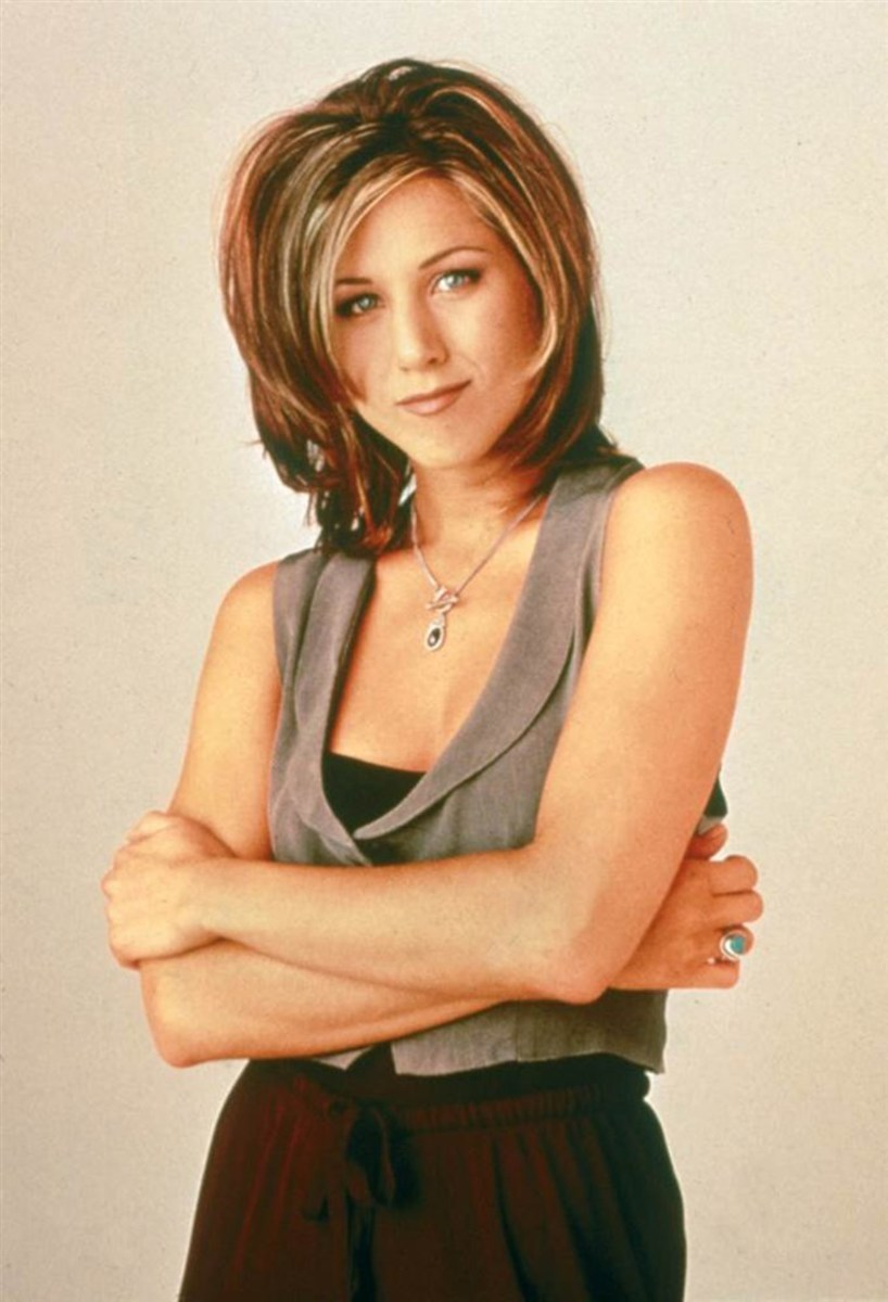 The (Hair)volution of Rachel Green From Friends
