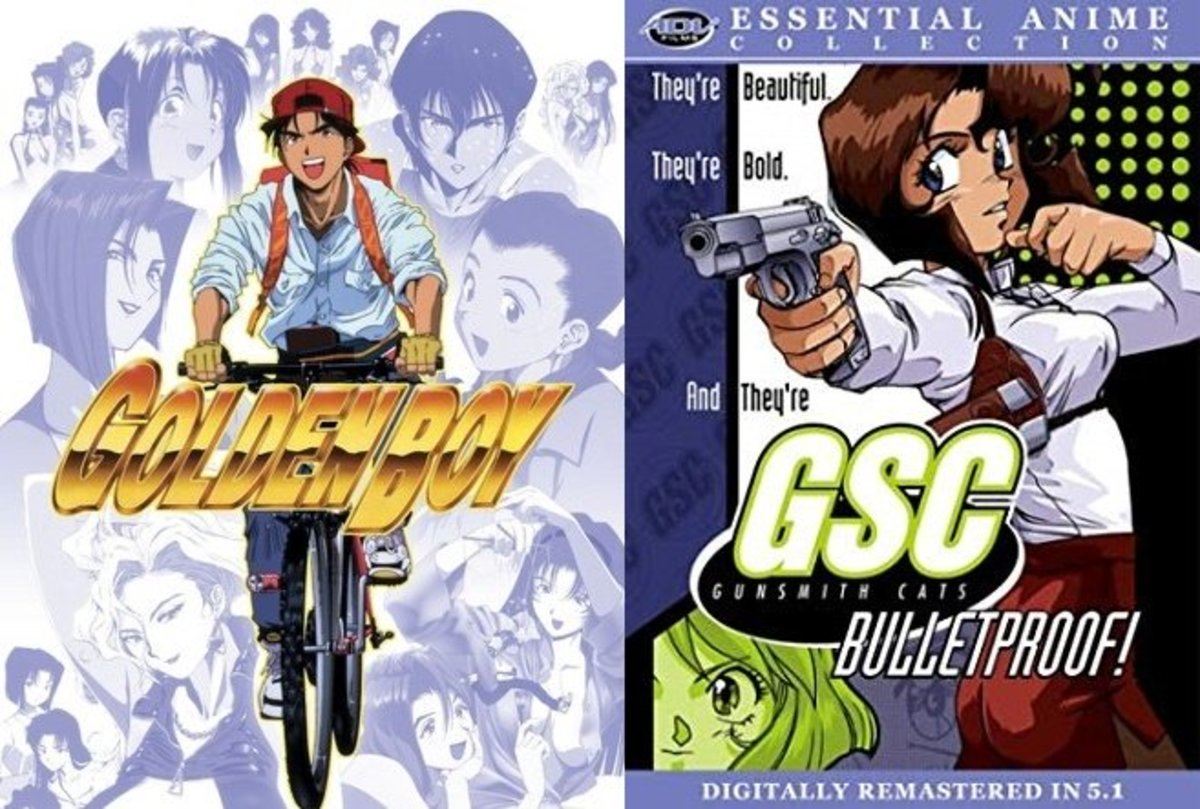 Special 2-for-1 Anime Review Extravaganza: Golden Boy + Gunsmith Cats