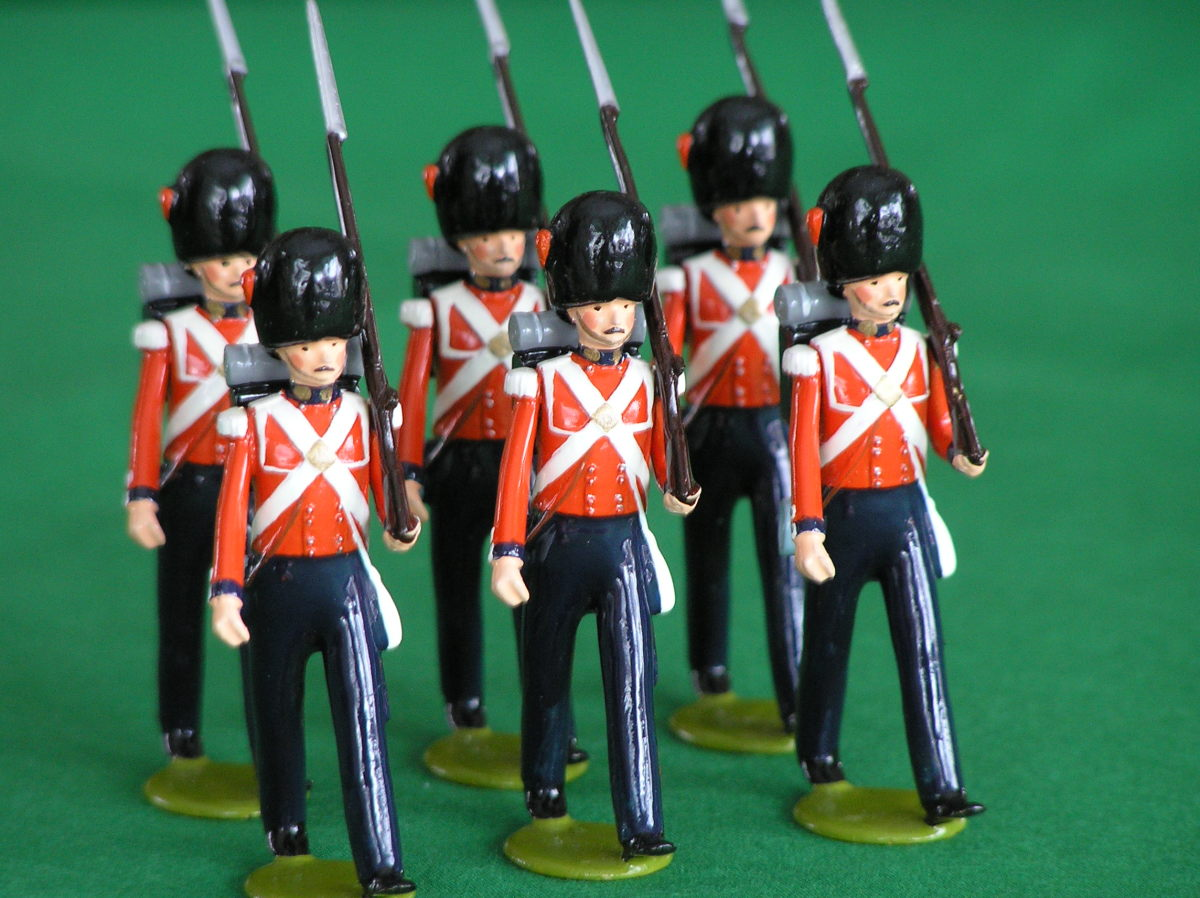 March of the Wooden Soldiers, a Poem