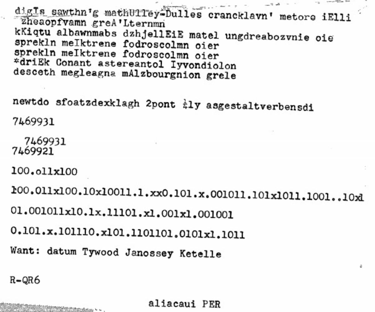 The Cipher Mystery of Paul Rubin