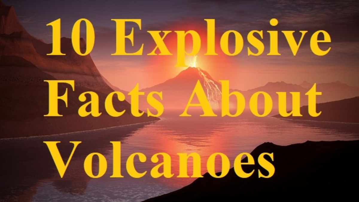 Volcanoes are among the most dangerous and exciting geophysical phenomena