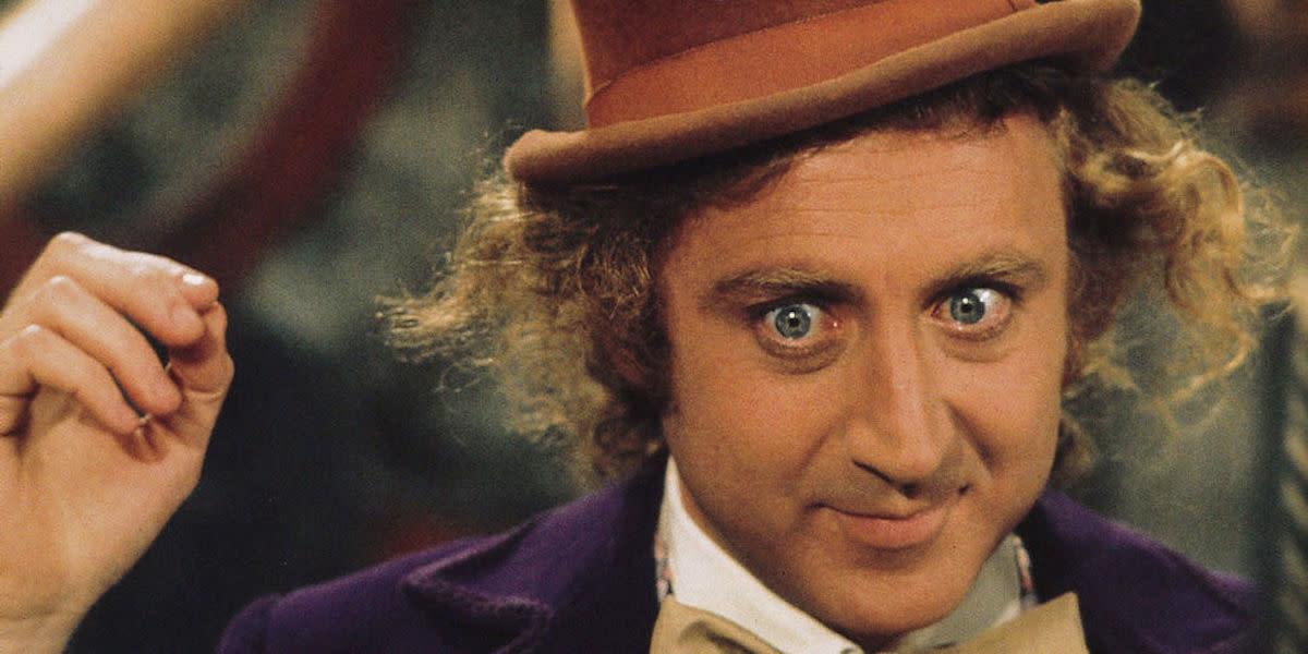 Gene Wilder as Willy Wonka in 'Willy Wonka and the Chocolate Factory' (1971)