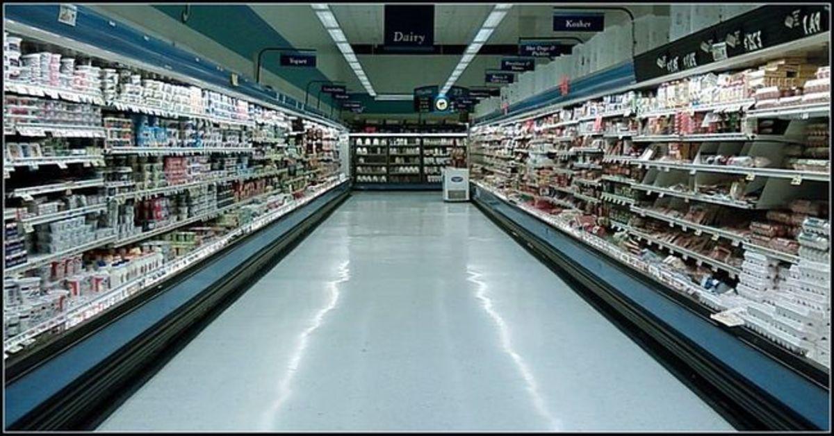 Strange Night at the Supermarket