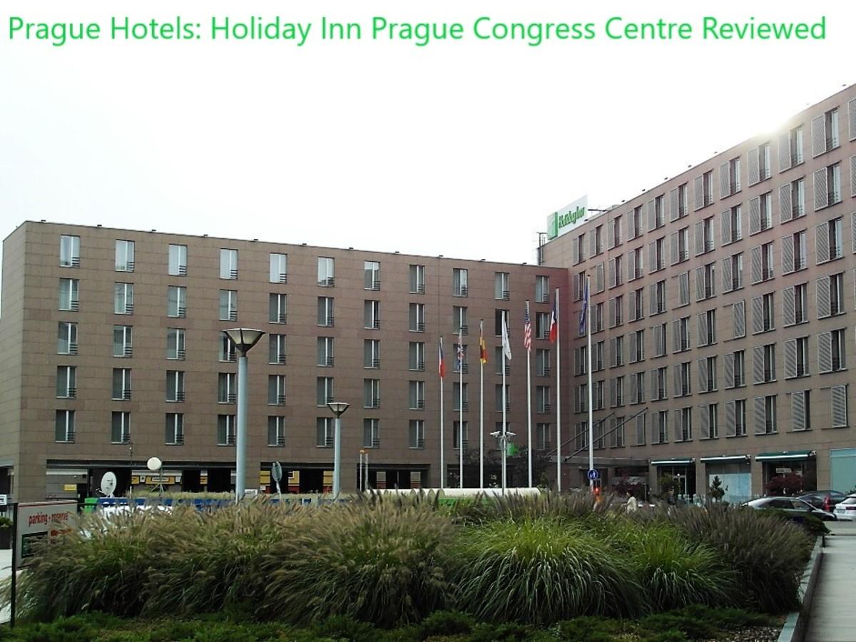 Holiday Inn Prague Congress Centre.