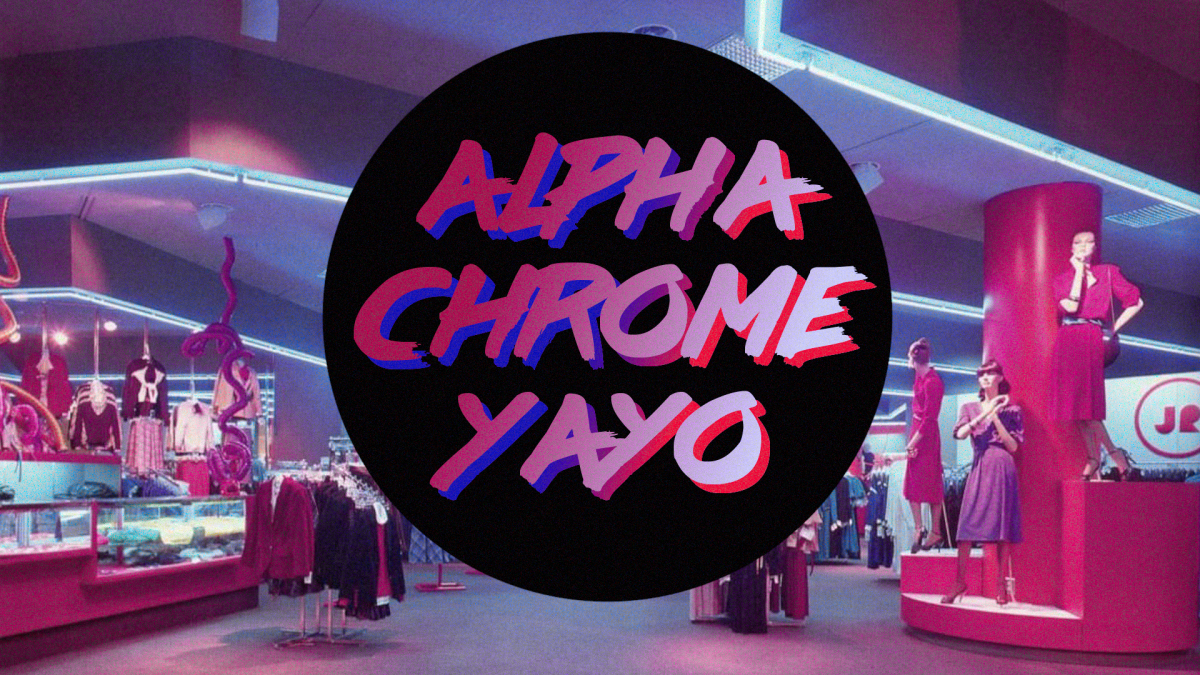 An Interview with U.K. Synthwave Artist Alpha Chrome Yayo