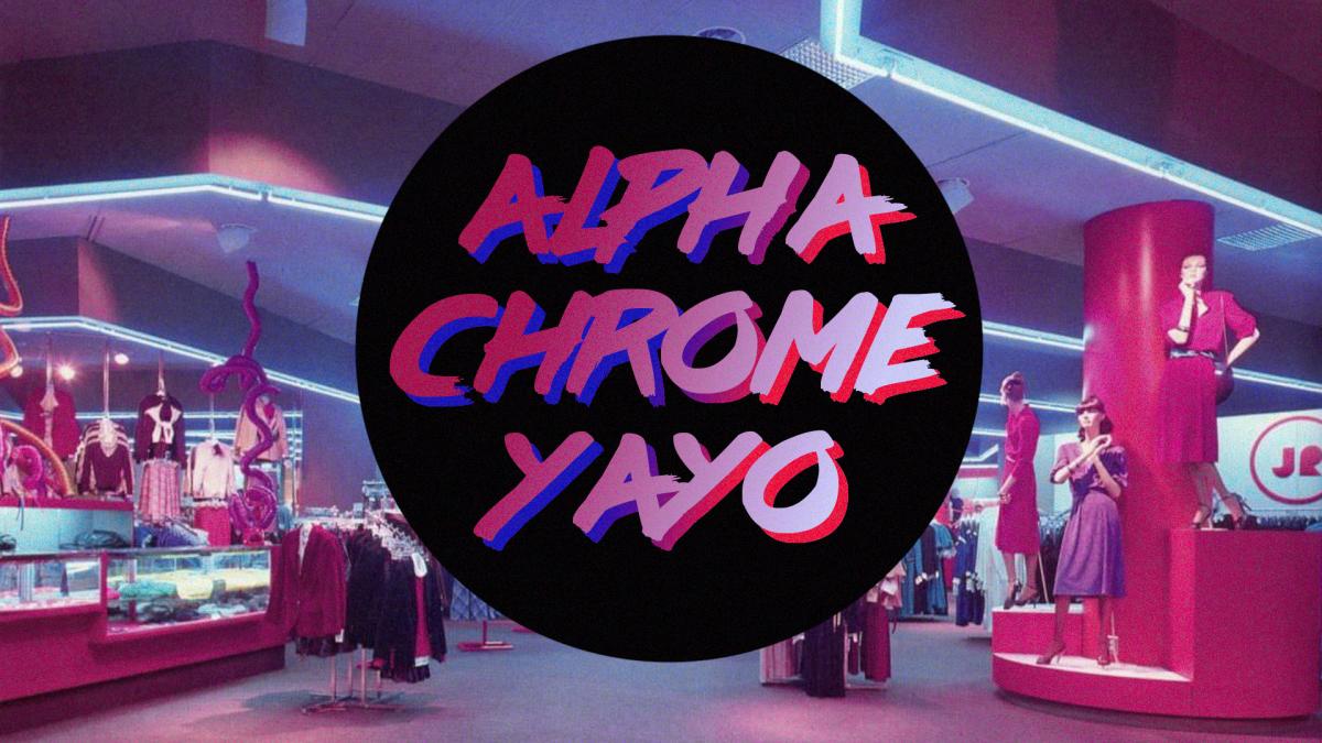 An Interview with U.K. Synthwave Artist Alpha Chrome Yayo