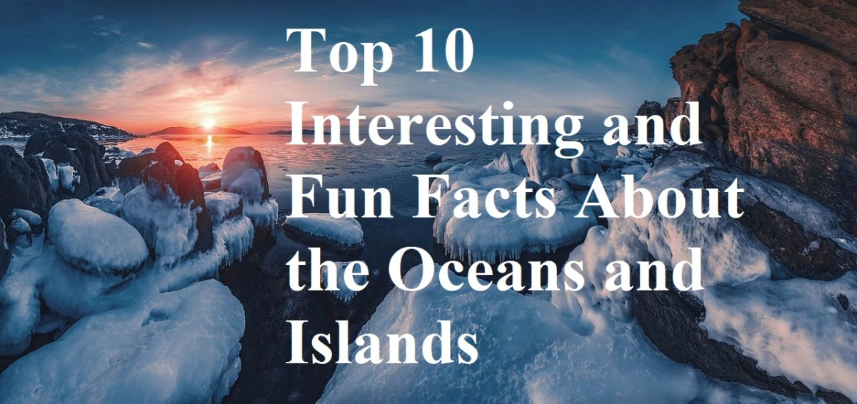 The oceans cover most of the planet and are scattered with thousands of islands